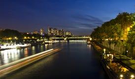 Afton Paris, Frankrike Fotografering för Bildbyråer