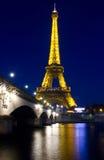 Afton Paris, Frankrike Arkivfoton