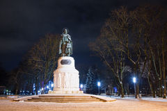 Afton Pskov, en monument till den storslagna hertiginnan Olga Royaltyfria Bilder