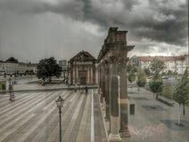 Afton Szene i Potsdam Royaltyfri Foto