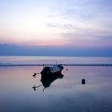 Aftonfartyg Fotografering för Bildbyråer