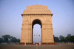 aftonportindia sky Arkivbild