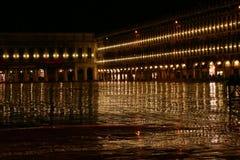 Aftonregn i Venedig Royaltyfria Bilder