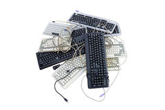 Afval van elektronisch Stock Afbeeldingen