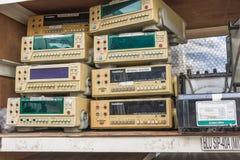 Afval van elektronisch Stock Foto