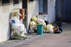 Afval voor recycling stock afbeeldingen