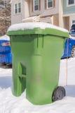 Afvalbak Stock Afbeeldingen