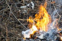 Afvalverbrandingsoven stock afbeelding