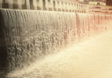 afvalwater Stock Foto