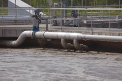 afvalwater royalty-vrije stock afbeeldingen
