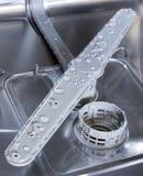 Afwasmachine binnen Royalty-vrije Stock Afbeelding