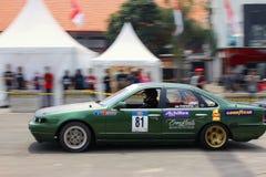 Afwijkingsraceauto Royalty-vrije Stock Fotografie