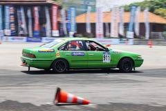 Afwijkingsraceauto Royalty-vrije Stock Afbeelding