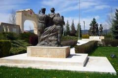 AFYONKARAHISAR TURKIET - CIRCA APRIL 2015, strid av Dumlupinar, Fotografering för Bildbyråer