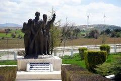 AFYONKARAHISAR TURKIET - CIRCA APRIL 2015, strid av Dumlupinar Arkivfoton