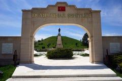 AFYONKARAHISAR TURKIET - CIRCA APRIL 2015, strid av Dumlupinar, Arkivfoton