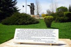 AFYONKARAHISAR TURKIET - CIRCA APRIL 2015, strid av Dumlupinar Royaltyfri Fotografi
