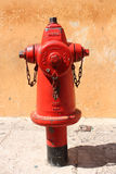 Afzet van het water, de Brandbestrijdings Royalty-vrije Stock Fotografie