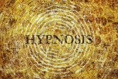 Afzonderlijk woordhypnose Stock Afbeeldingen