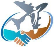 Agência de viagens ilustração stock