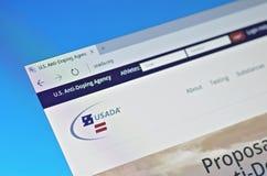 Agência do anti-doping do Estados Unidos imagens de stock royalty free