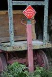 Agência expressa da estrada de ferro Imagem de Stock