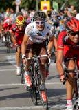 AG2R La Mondiale爱尔兰骑自行车者尼古拉斯Roche 免版税图库摄影
