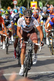 AG2R La Mondiale cyclist Italian Rinaldo Nocentini Royalty Free Stock Photo