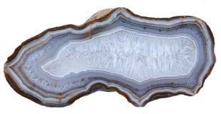 Agaat en Kwartsgeode stock afbeelding