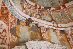 Agacalti Under the tree church, Cappadocia Royalty Free Stock Photo