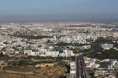 Agadir. Panorama of Agadir city in Morocco Stock Photo