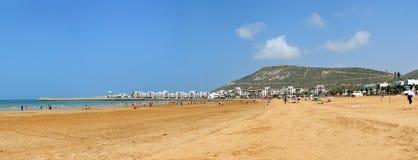 Agadir beach Stock Photos