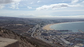 agadir city Stock Image