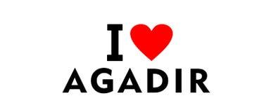 Agadir city Morocco Stock Photos