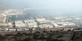 Agadir docks Stock Photography