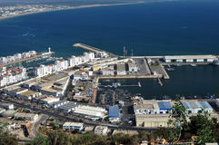 Agadir harbour Royalty Free Stock Photo