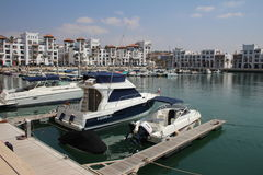 Agadir Marina, Maroko Zdjęcia Royalty Free