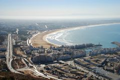 Agadir, Maroko Obrazy Royalty Free