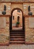 Agadir Medina archway Zdjęcie Royalty Free