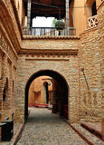 Agadir medina archway Stock Image