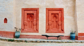 Agadir Medina ściana Zdjęcie Stock