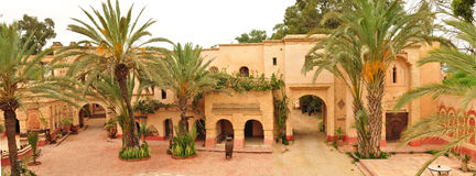 Agadir medina. Agadir city morocco medina landmark arab panorama Royalty Free Stock Photos