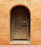 Agadir Medina drzwi Zdjęcie Royalty Free