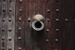 Agadir Medina drzwiowa rękojeść Obraz Royalty Free