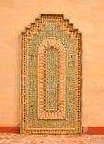 Agadir medina vägggarnering Royaltyfria Bilder