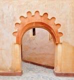 Agadir medina valvgång Fotografering för Bildbyråer