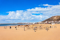 Agadir miasto, Maroko Zdjęcie Stock