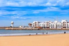 Agadir miasto, Maroko Obrazy Royalty Free