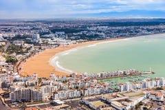 Agadir miasto, Maroko Zdjęcia Royalty Free