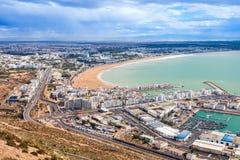 Agadir miasto, Maroko Fotografia Stock